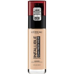 L'Oreal Paris Infallible 24 Hr Fresh Wear Foundation - Light Shades