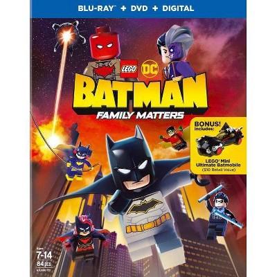LEGO DC: Batman: Family Matters (Blu-ray + DVD + Digital)