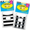 Barker Creek 60pc 2 Designs Buffalo Plaid and Wide Stripes Library Pocket Set - image 4 of 4