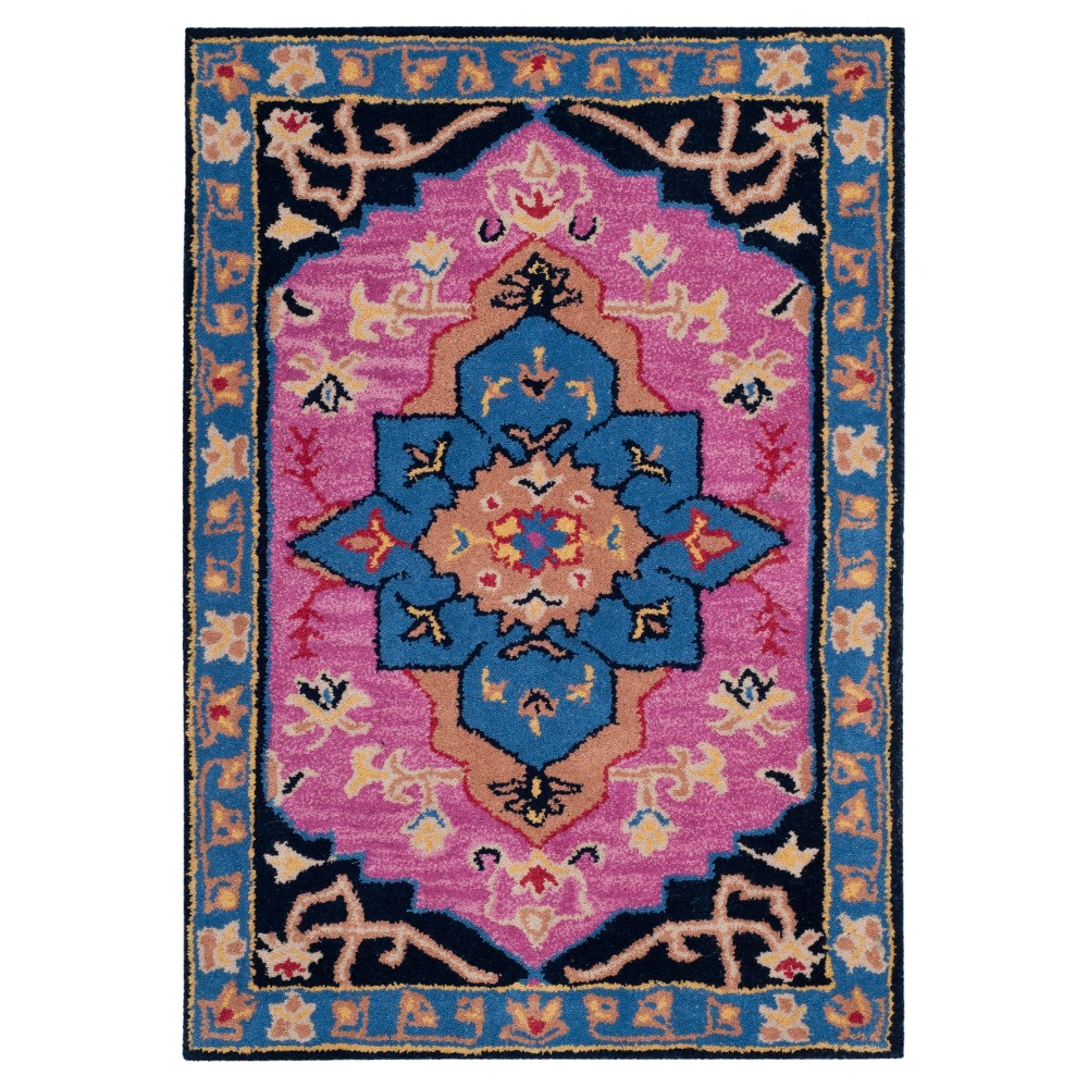 Floral Tufted Accent Rug 2'X3' - Safavieh, Pink/Multi