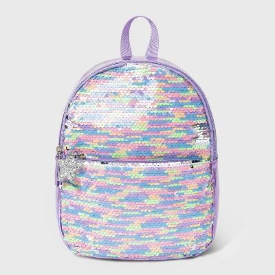Kids' Flip Sequin Mini Backpack - Cat & Jack™ Purple