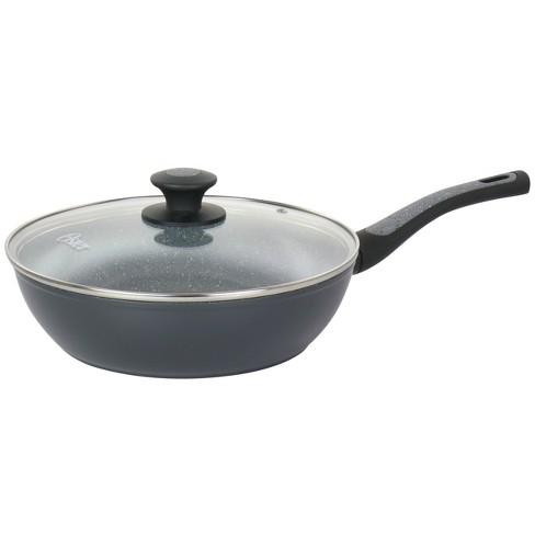 Oster Bastone 3 Quart Aluminum Nonstick Saute Pan in Speckled Gray - image 1 of 4