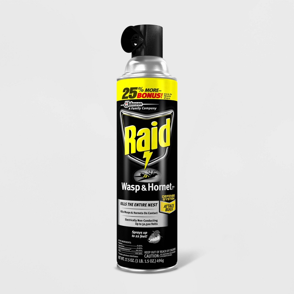 Image of Raid Wasp & Hornet Killer 33 - 17.5oz