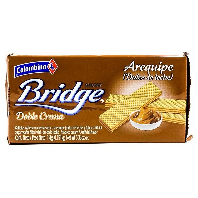 Colombina Bridge Dulce de Leche Wafers - 5.33oz