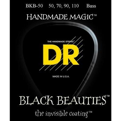 DR Strings BKB-50 Black Beauty Heavy Bass Strings
