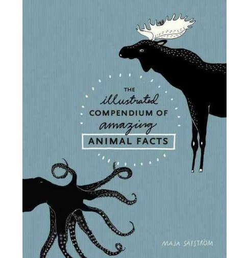 illustrated Compendium of Amazing Animal Facts (Illustrated) (Hardcover) (Maja Safstrom) - image 1 of 1