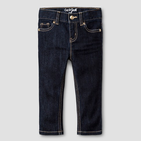 Toddler Girls' Skinny Jeans Dark Wash - Cat & Jack™ - image 1 of 4