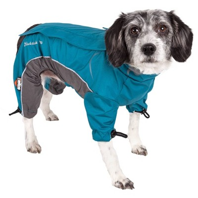 Dog Helios Blizzard Full-Bodied Adjustable and 3M Reflective Dog and Cat  Jacket - Blue