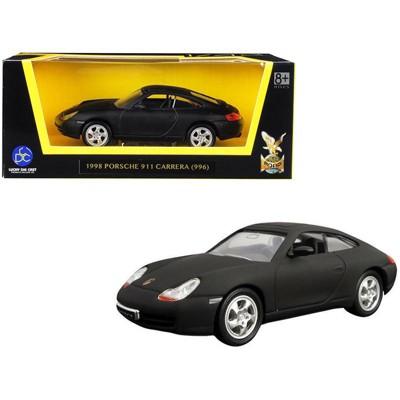 1998 Porsche 911 (996) Carrera Matt Black 1/43 Diecast Model Car by Road Signature