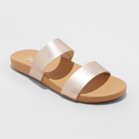 1431152e5 Women's Dedra Slide Sandals - Shade & Shore™ : Target