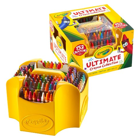 crayola ultimate crayon collection with sharpener 152ct target