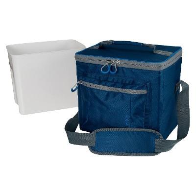 12 Can Mini Rec Cooler - Blue - Embark™