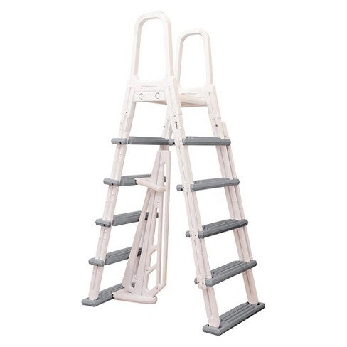 Heavy Duty A-Frame Ladder for Above Ground Pools - image 1 of 3