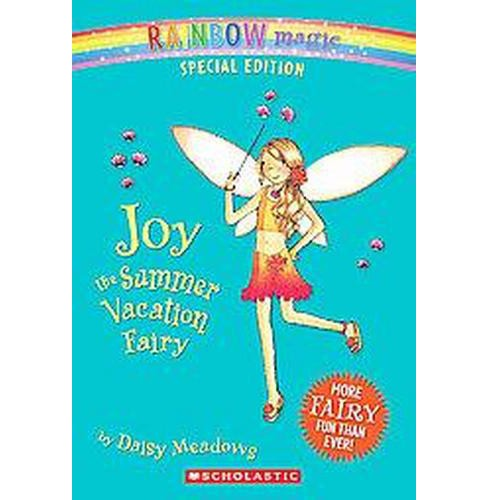 Joy the Summer Vacation Fairy (Paperback) (Daisy Meadows) - image 1 of 1