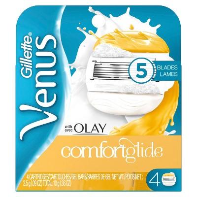 Razor Blades: Venus ComfortGlide with Olay