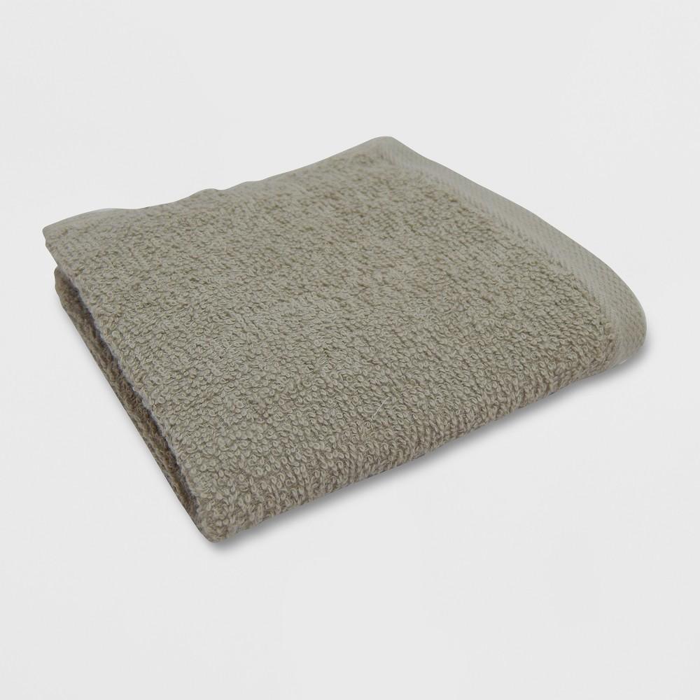 Everyday Washcloth Light Taupe - Room Essentials