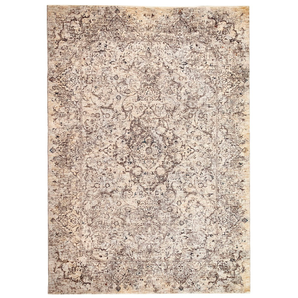 2'X3' Shapes Woven Accent Rug Ivory - Liora Manne, White