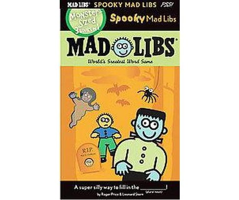 Spooky Mad Libs (Paperback) (Roger Price) - image 1 of 1