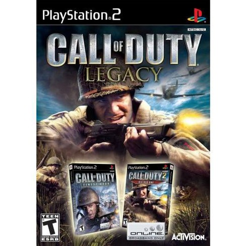 Call of Duty Legacy (Includes Finest Hour, Big Red One) - PlayStation 2 - image 1 of 1