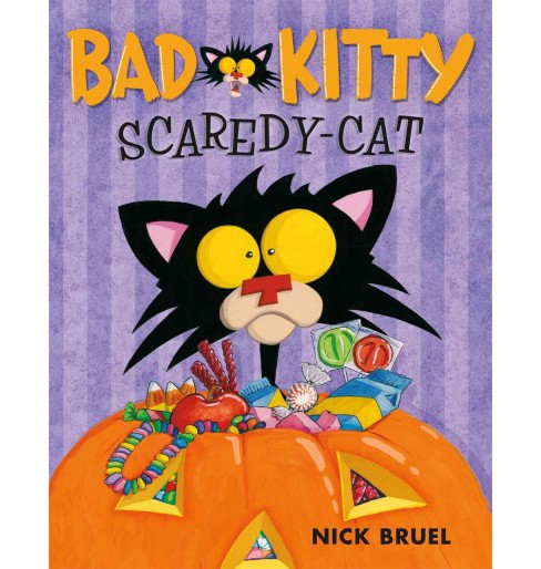 Bad Kitty, Scaredy-Cat (School And Library) (Nick Bruel) - image 1 of 1