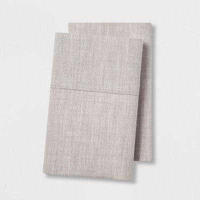 Standard Easy Care Pillowcase Set Beige - Made By Design™