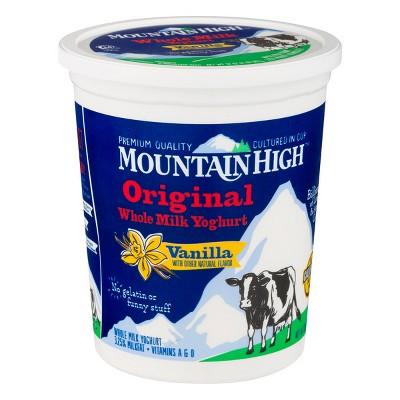 Mountain High Original Whole Milk Vanilla Yoghurt - 32oz
