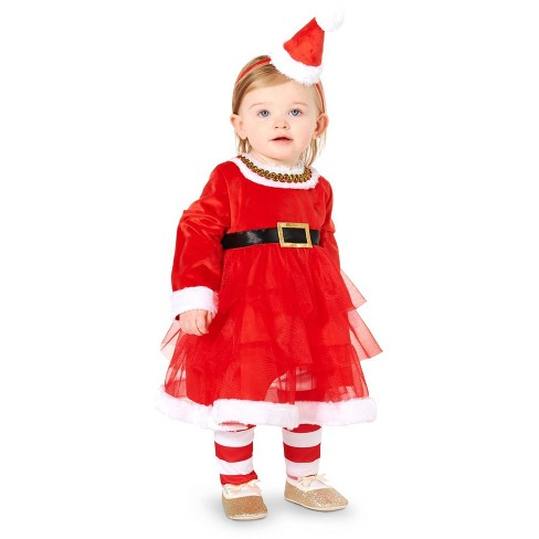 Christmas Diva Infant Costume 12-18 Months - image 1 of 1