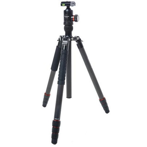 FotoPro X-Go Max 4-Section Carbon Fiber Tripod with Built-In Monopod, FPH-62Q Ball Head, 26 lbs Capacity, 67  Maximum Height - image 1 of 4
