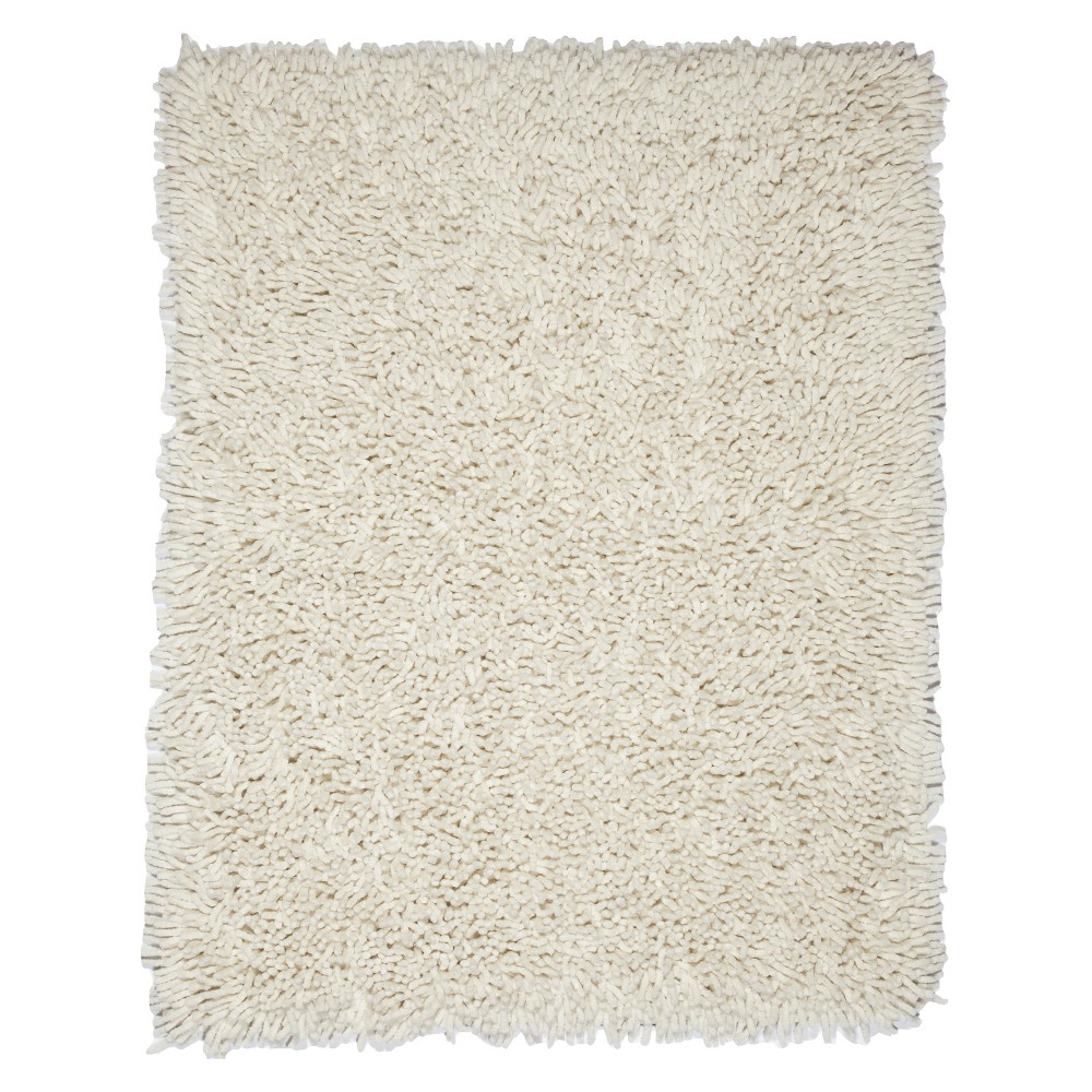 5'X8' Solid Area Rug Ivory - Anji Mountain