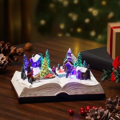 Mr. Christmas Storybook LED Animated Musical Christmas Decoration
