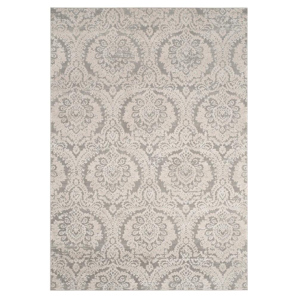 Gray/Beige Abstract Loomed Area Rug - (9'x12') - Safavieh