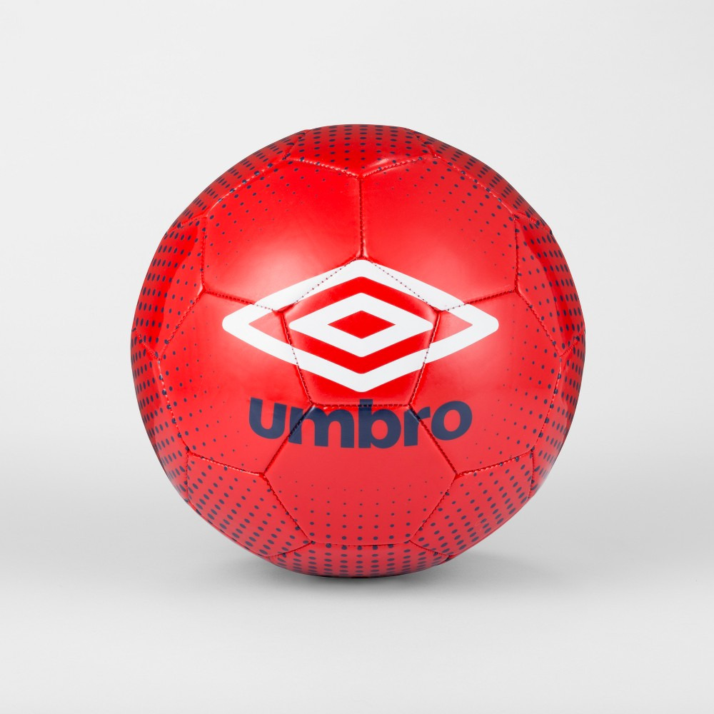 Umbro Duotone Size 4 Soccer Ball - Navy/Red, Blue