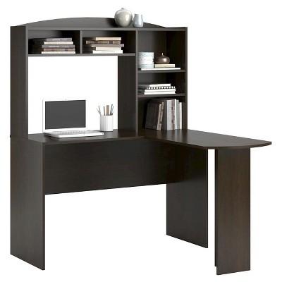 Danford L Desk With Hutch   Room U0026 Joy