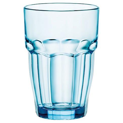 Bormioli Rocco Rock Bar Stackable 12.5oz Long Drink Set of 6 - Blue - image 1 of 1