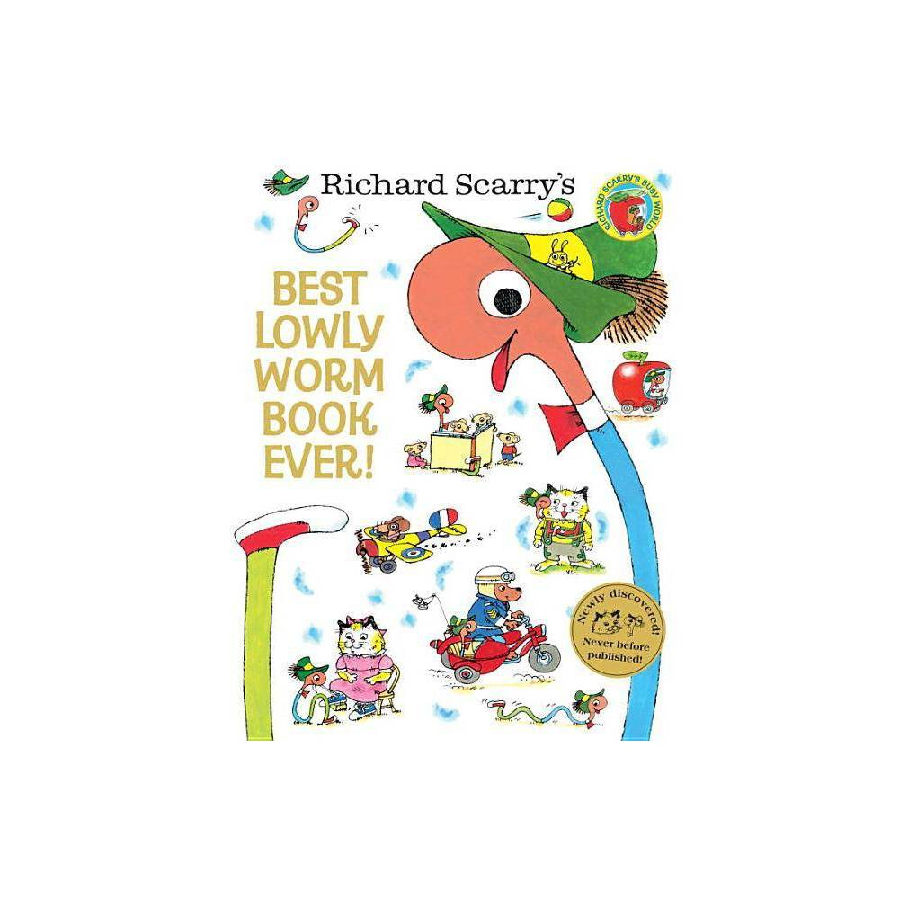 Best Lowly Worm Book Ever By Richard Scarry Hardcover