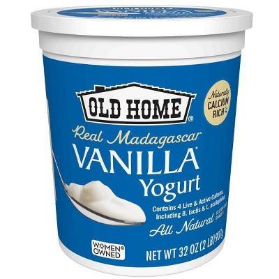 Old Home Vanilla Yogurt - 32oz