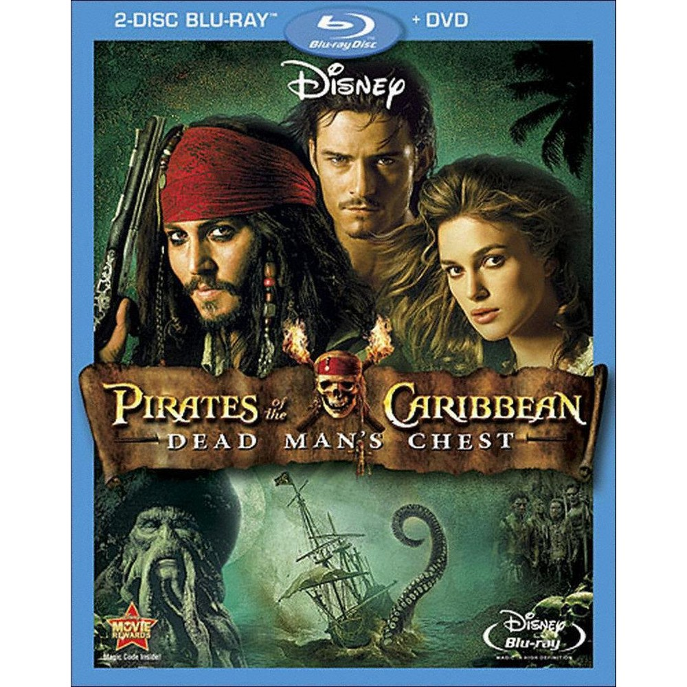 Pirates of the Caribbean: Dead Man's Chest (3 Discs) (Blu-ray/Dvd)