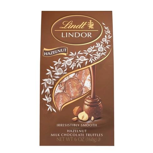 Lindor Hazelnut Milk Chocolate Truffles - 6oz - image 1 of 4