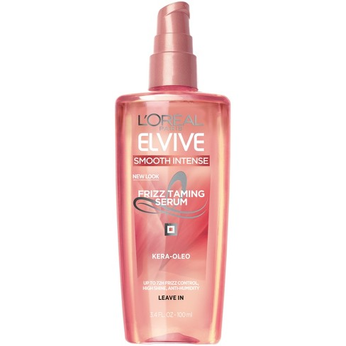 L'Oréal Paris Elvive Smooth Intense Frizz Taming Serum - 3.4 fl oz - image 1 of 6