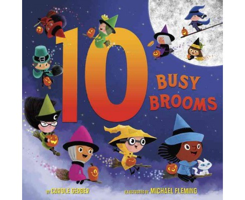 10 Busy Brooms (Hardcover) (Carole Gerber) - image 1 of 1