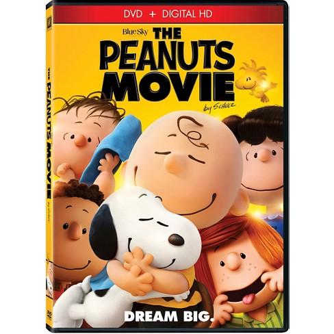 The Peanuts Movie Dvd Target