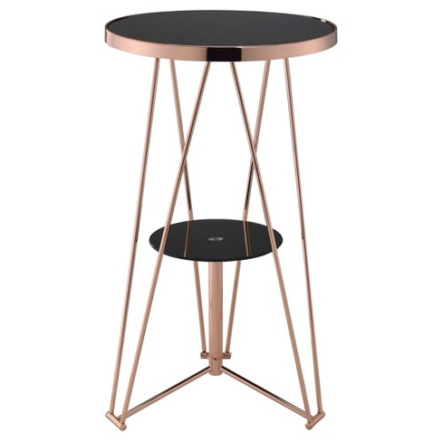Dining Table Black Rose Gold - image 1 of 3