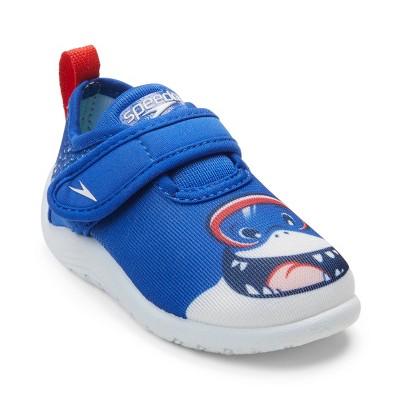 Speedo Toddler Boys' Shore Explorer Water Shoes - Black Shark