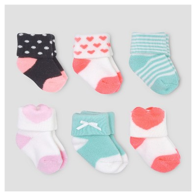 Baby Girls' Casual Socks - Just One You™ Made by Carter's® 0-3M