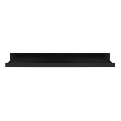 Decorative Wall Shelf - Black - image 1 of 5