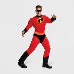 Men's The Incredibles Mr. Incredible Classic Muscle Halloween Costume