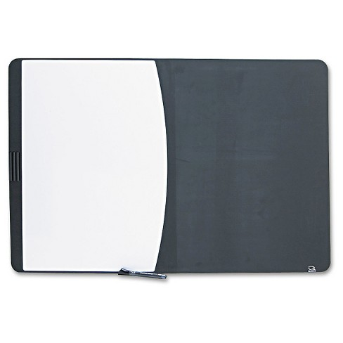 Quartet® Tack & Write Combo Dry-Erase Board, Foam, 35 x 23 1/2, Black/White - image 1 of 1