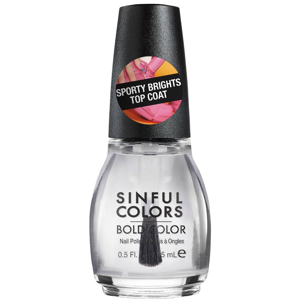Image of SinfulColors Nail Polish 2686 Top Coat - 0.5 fl oz