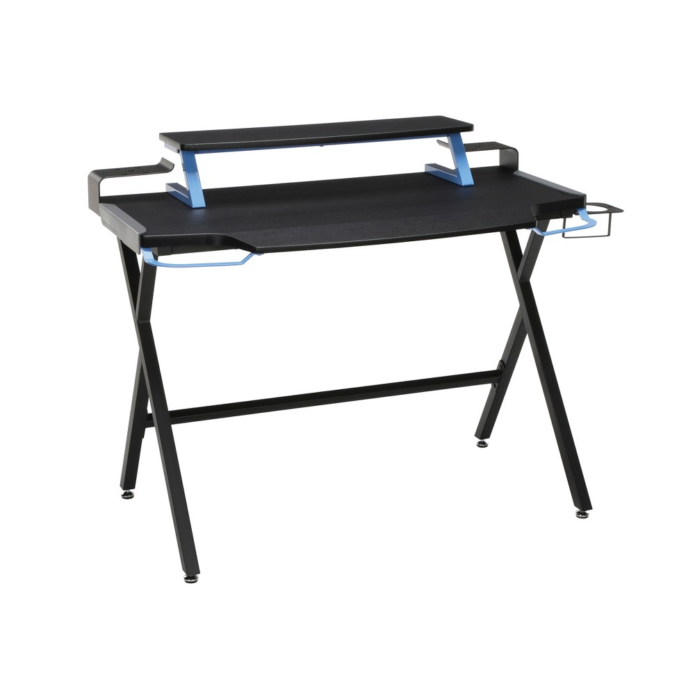 Image of 1000 Gaming Computer Desk Blue - RESPAWN