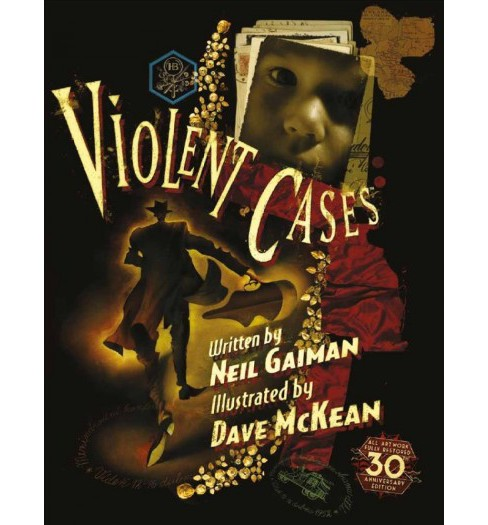 Violent Cases -  by Neil Gaiman (Hardcover) - image 1 of 1